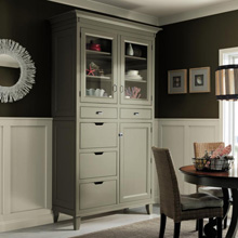 Decora custom cabinets in dining room