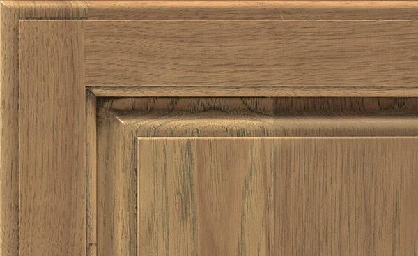 Gunny cabinet finish on Hickory