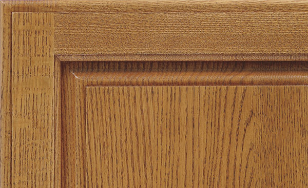 quartersawn oak cabinet finish