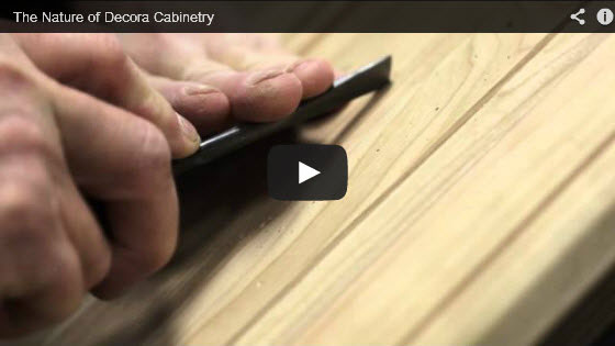 Nature of Decora Cabinetry Video