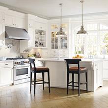 Prescott White Kitchen Cabinets