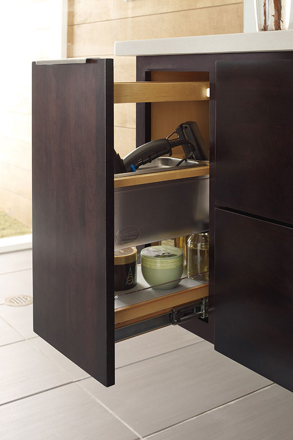 Base Bath Grooming Pull Out Cabinet