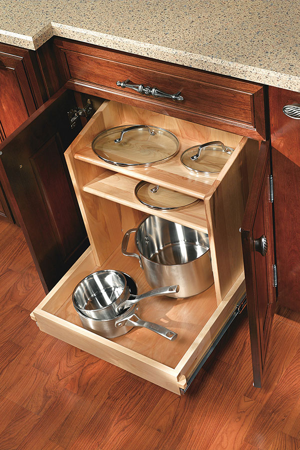 Base Lid Storage Cabinet