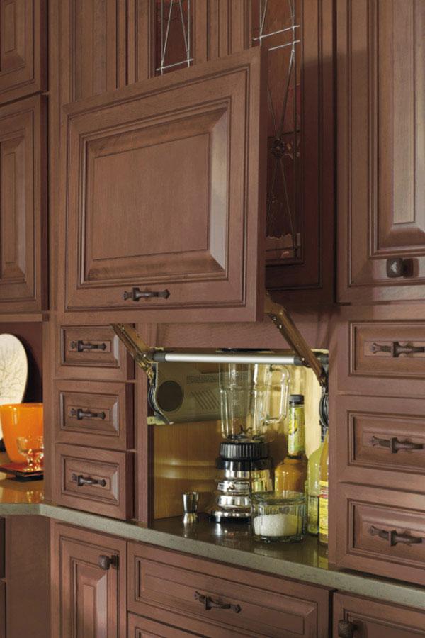 Attractive Kitchen Cabinet Appliance Garage Part - 9: Appliance Garage Cabinet