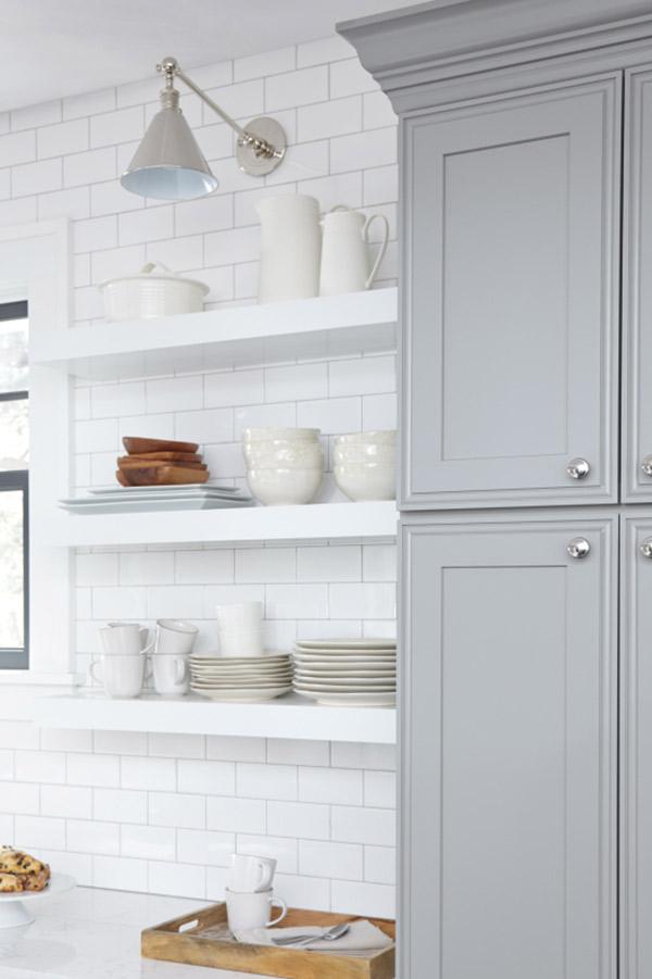 Floating Shelves Decora Cabinetry, Kitchen Cabinet Hanging Shelves