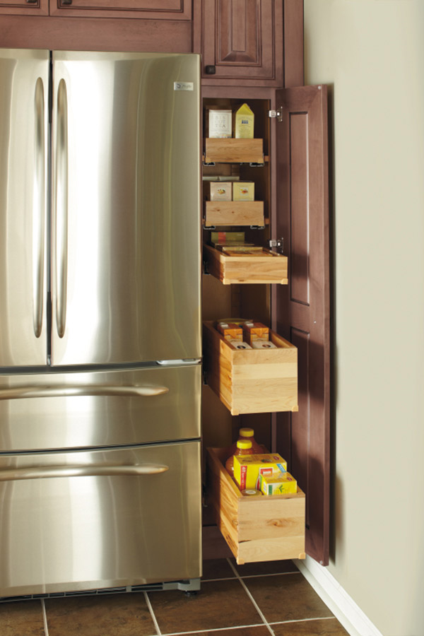 Deep Roll Tray Cabinet Decora Cabinetry
