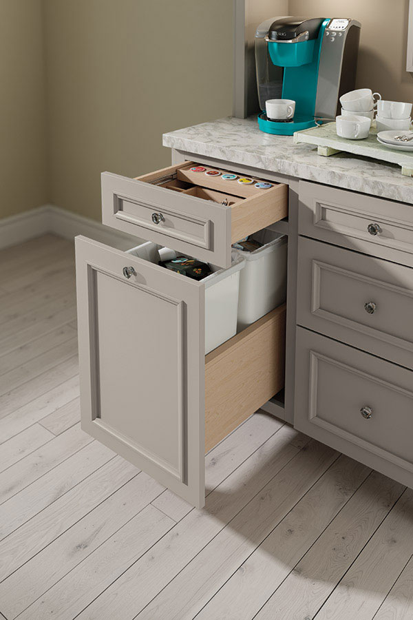 K Cup Storage Drawer Decora Cabinetry