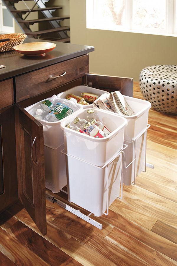 Kitchen Recycle Center; DecRecycleBinCSeS