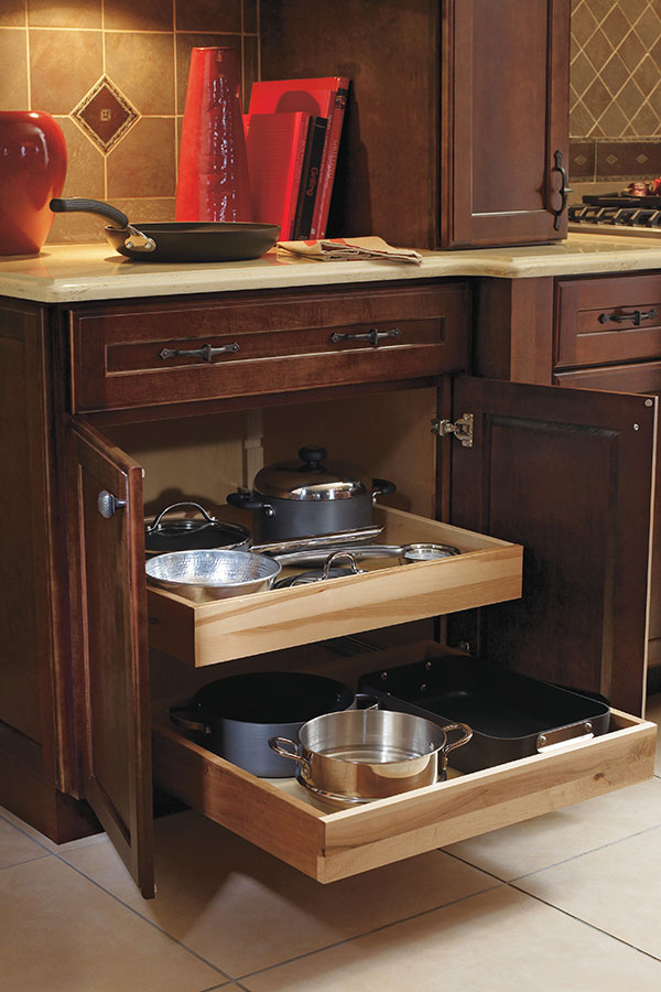 Roll Tray Base Cabinet ...