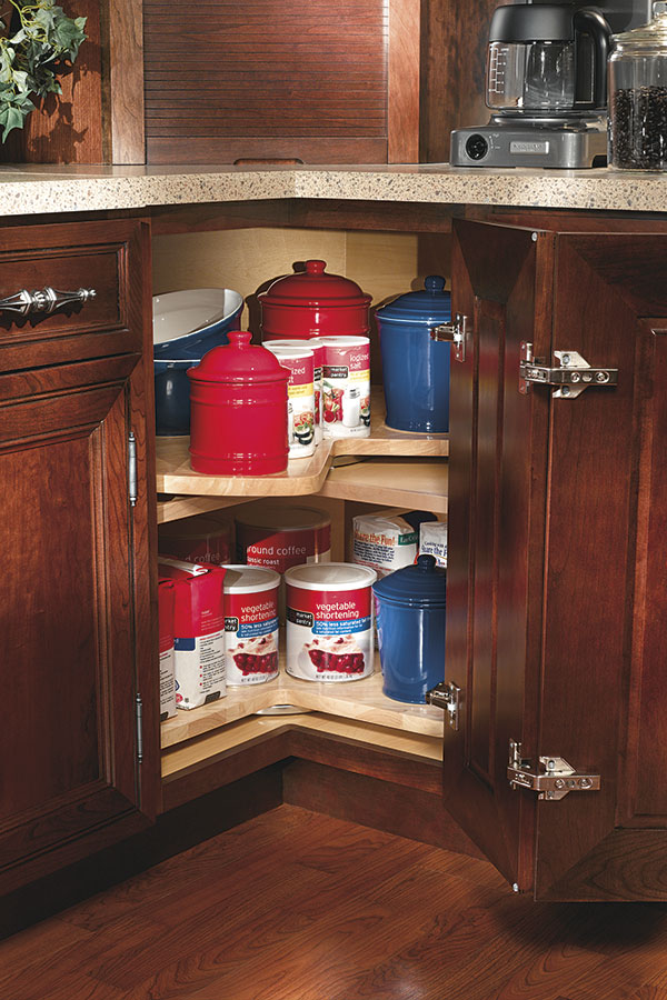 super space saver lazy susan cabinet