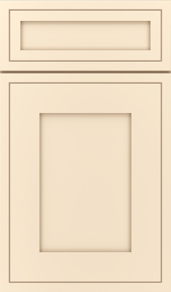 Airedale 5-Piece Maple Shaker Style Cabinet Door in Jasmine