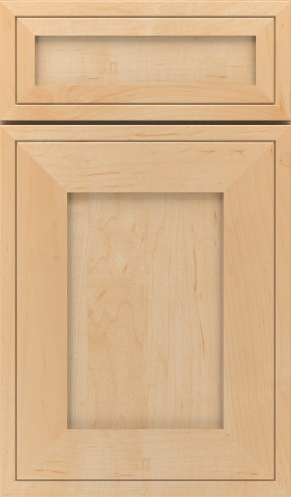 Airedale 5-Piece Maple Shaker Style Cabinet Door in Natural