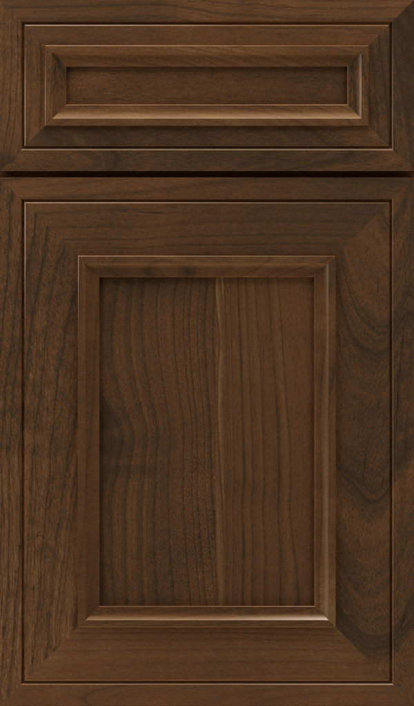 Altmann 5-piece Alder recessed panel cabinet door in Mink