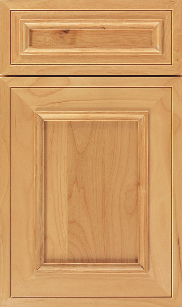 Altmann 5-piece Alder recessed panel cabinet door in Natural