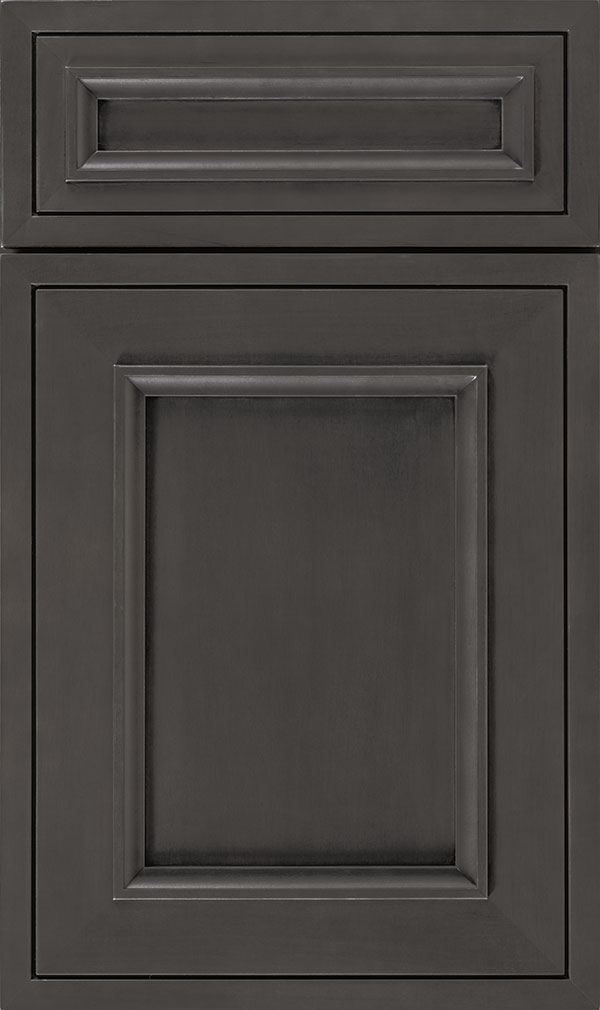 Altmann 5-piece Maple recessed panel cabinet door in Cobblestone
