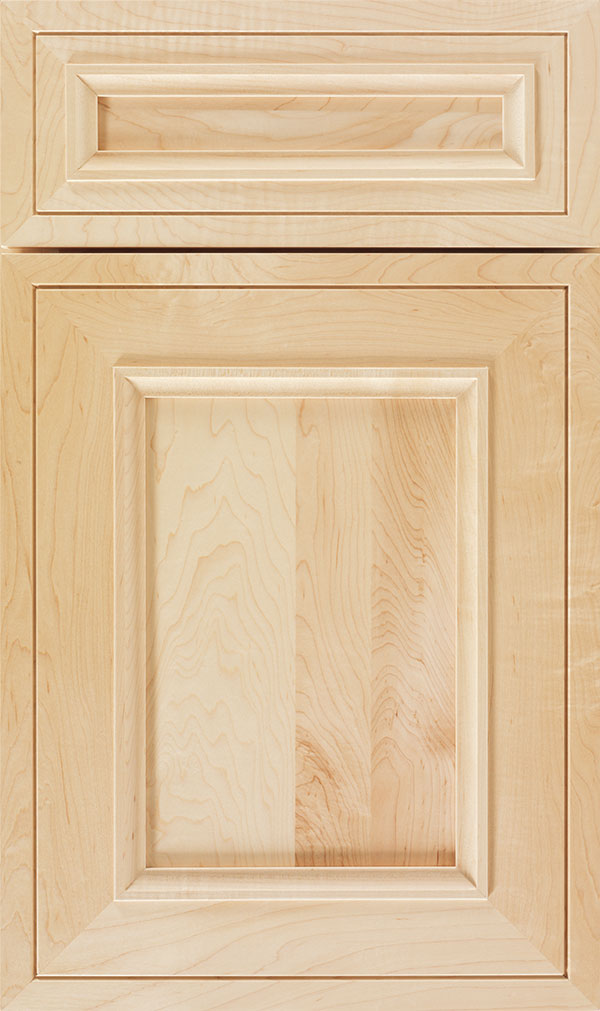 Altmann 5-piece Maple recessed panel cabinet door in Natural