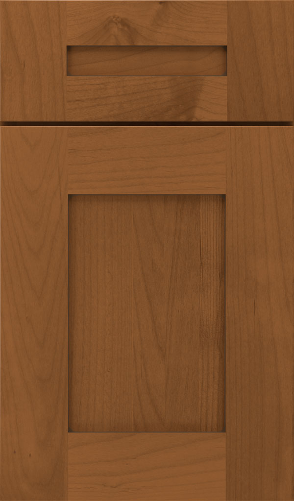 Artisan 5-piece Alder shaker cabinet door in Brandywine Coffee