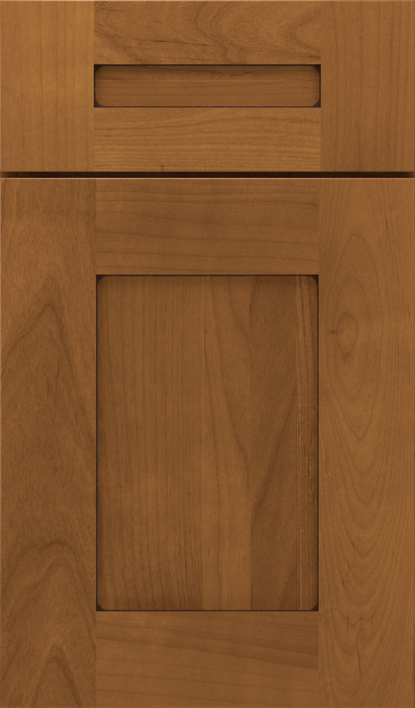 Artisan 5-piece Alder shaker cabinet door in Coriander Coffee
