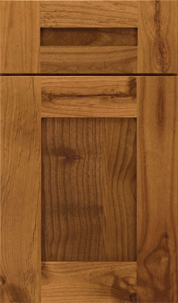 Artisan 5-piece Alder shaker cabinet door in Natural Coffee
