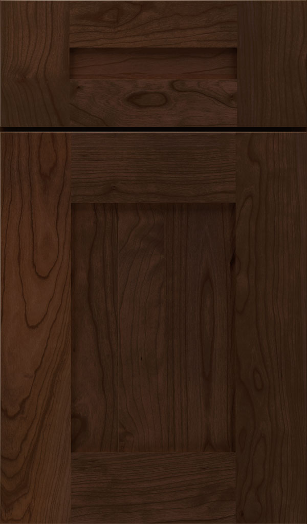 Artisan 5-piece Cherry shaker cabinet door in Bombay
