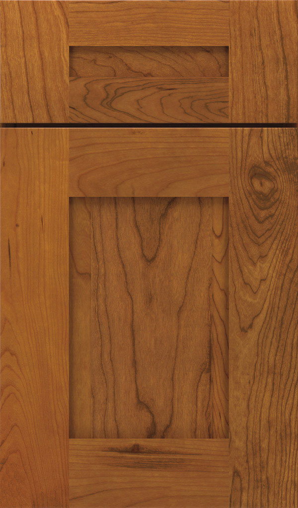Artisan 5-piece Cherry shaker cabinet door in Pheasant