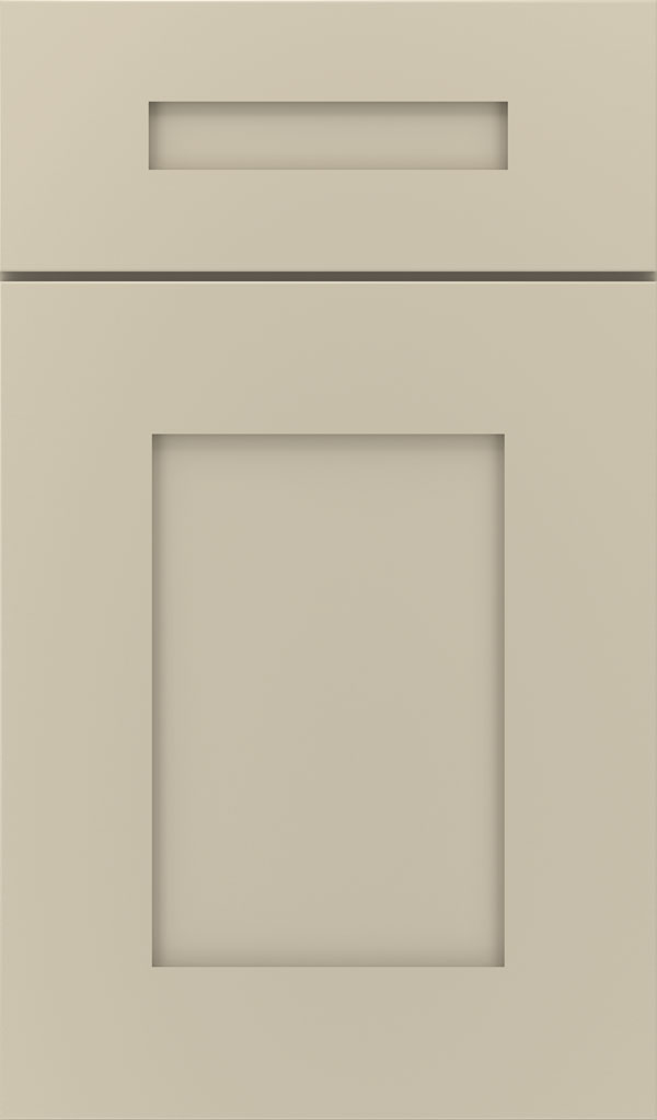 Artisan 5-piece Maple shaker cabinet door in Analytical Gray