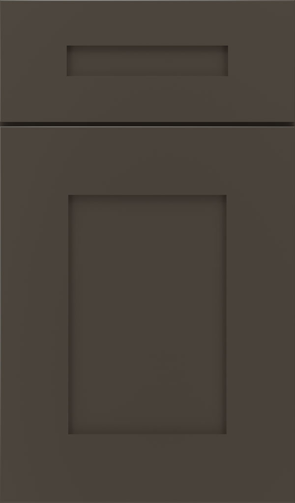 Artisan 5-piece Maple shaker cabinet door in Black Fox
