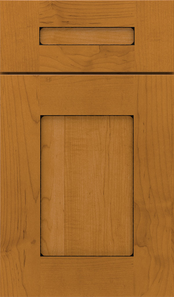 Artisan 5-piece Maple shaker cabinet door in Natural Coffee