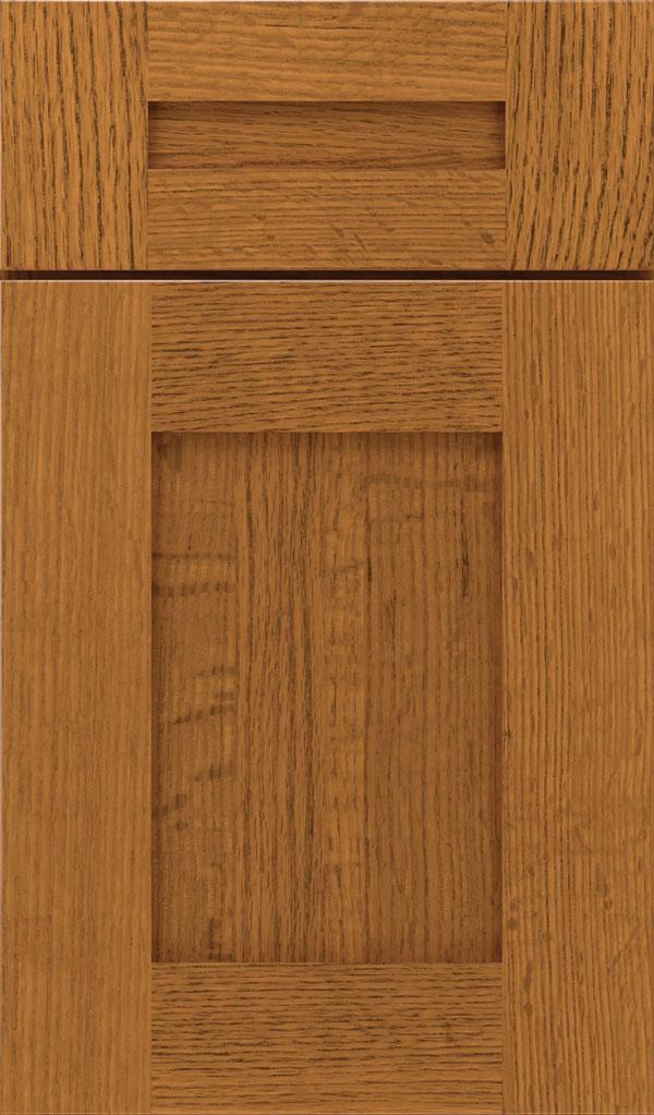 Artisan 5 Piece Quartersawn Oak Shaker Cabinet Door In Pheasant