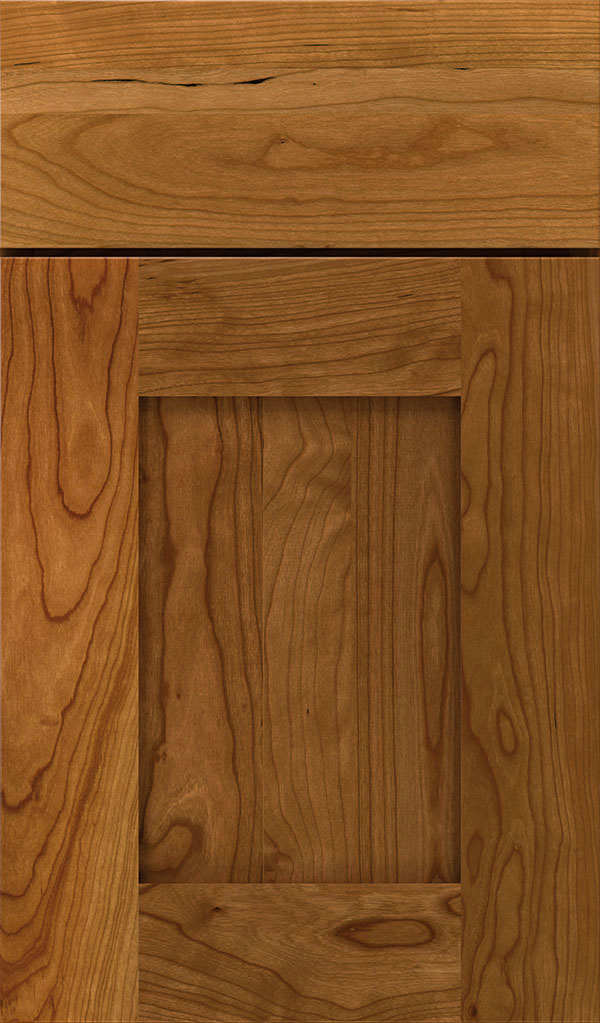 Artisan Cherry Shaker Cabinet Door in Suede