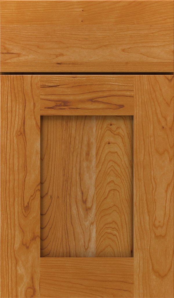 Artisan Cherry Shaker Cabinet Door in Wheatfield