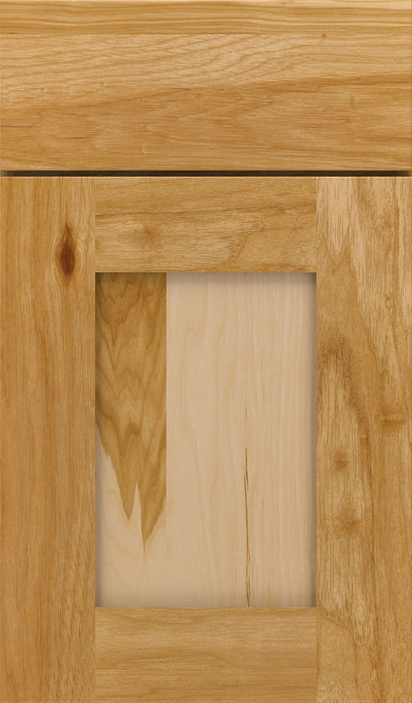 Artisan Hickory Shaker Cabinet Door in Natural