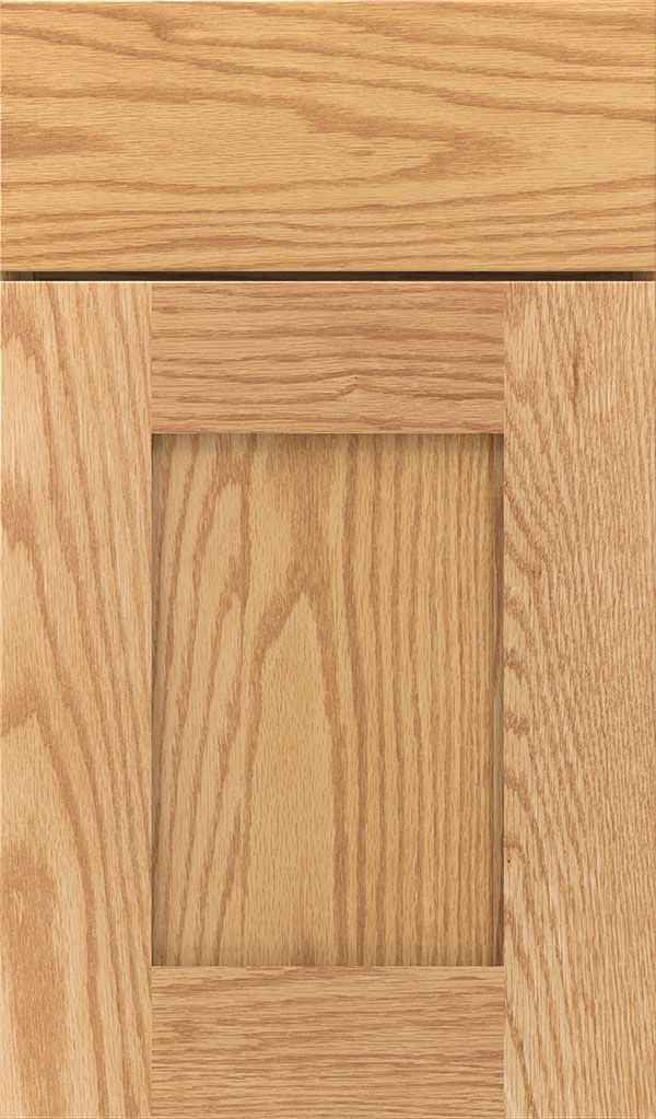 Artisan Oak Shaker Cabinet Door in Natural