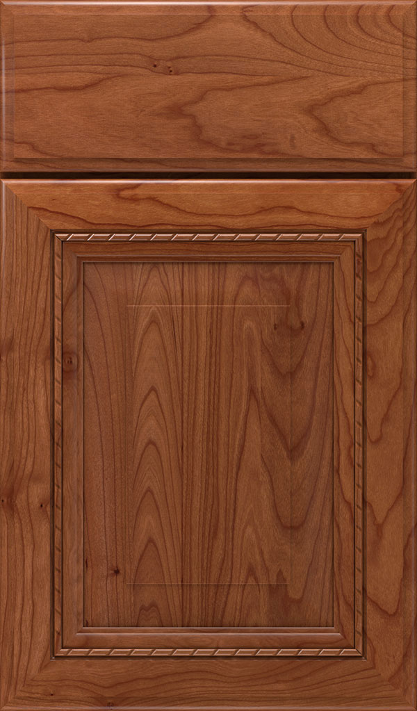 Avignon Cherry Raised Panel Cabinet Door in Brandywine