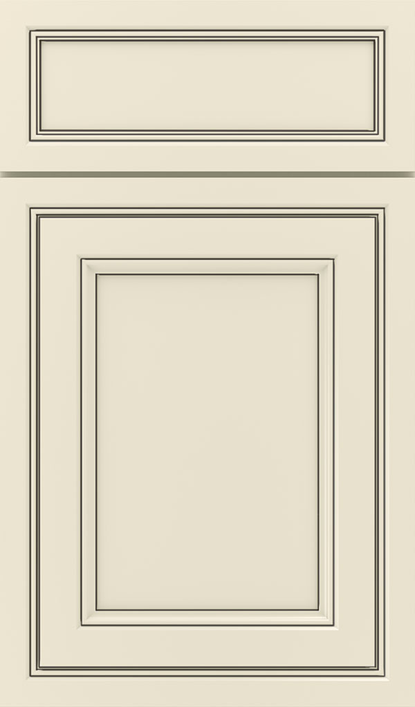 Braydon Manor 5-Piece Maple Flat Panel Cabinet Door in Chantille Espresso