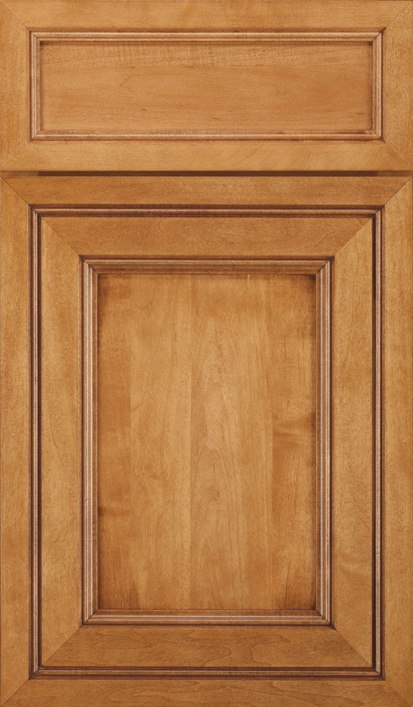 Braydon Manor 5-Piece Maple Flat Panel Cabinet Door in Pheasant