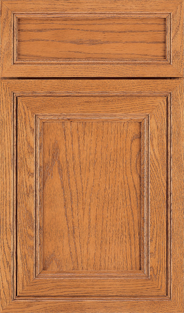 Braydon Manor 5-Piece Oak Flat Panel Cabinet Door in Pheasant
