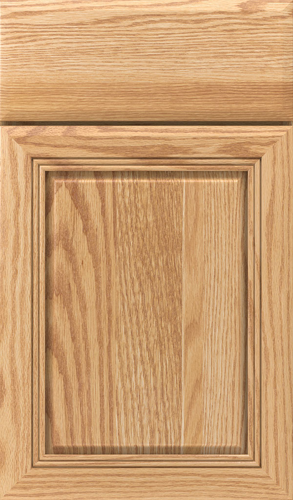 Cambridge Oak Raised Panel Cabinet Door in Natural