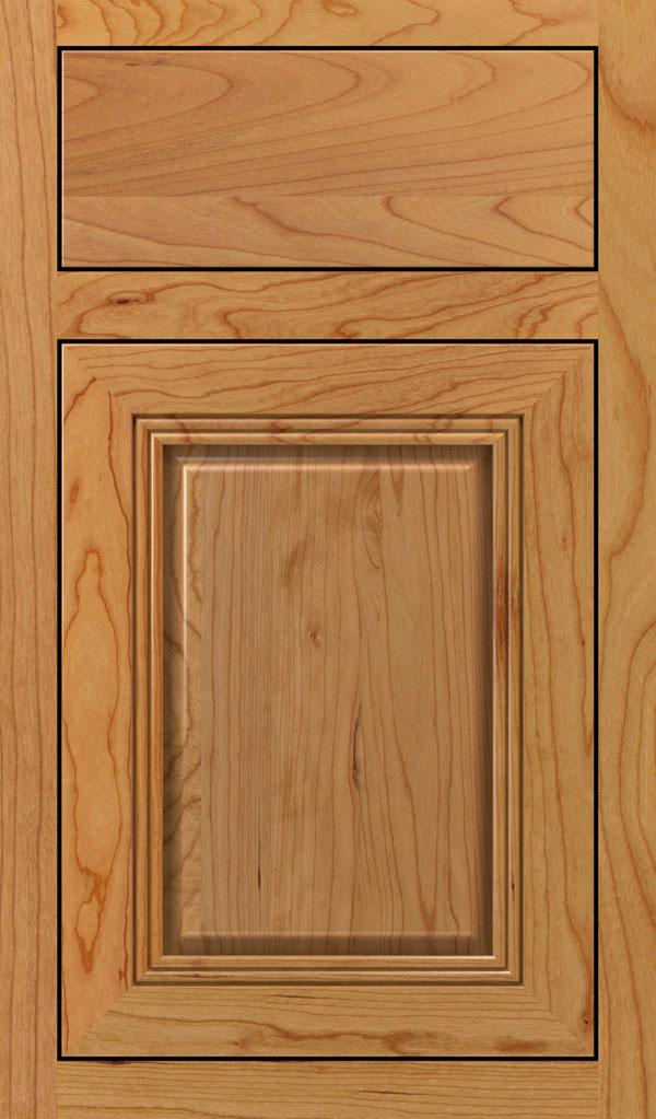 Cambridge Cherry Inset Cabinet Door In Natural