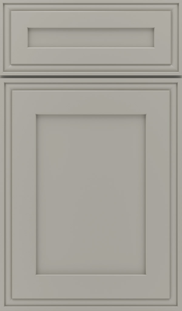 daladier 5-piece maple recessed panel cabinet door in stamped concrete
