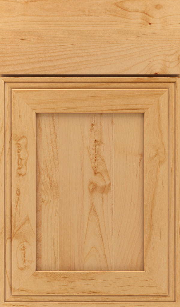 Daladier Alder Recessed Panel Cabinet Door in Natural