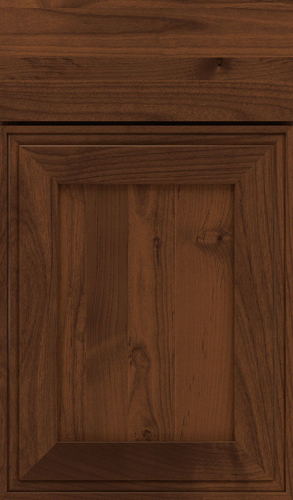 Daladier Alder Recessed Panel Cabinet Door in Sepia