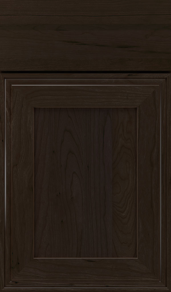 Daladier Cherry Recessed Panel Cabinet Door in Teaberry