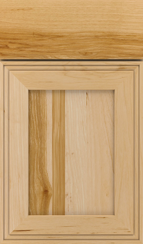 Daladier Hickory Recessed Panel Cabinet Door in Natural