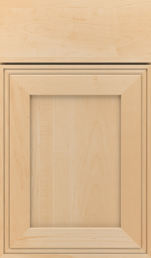 Daladier Maple Recessed Panel Cabinet Door in Natural