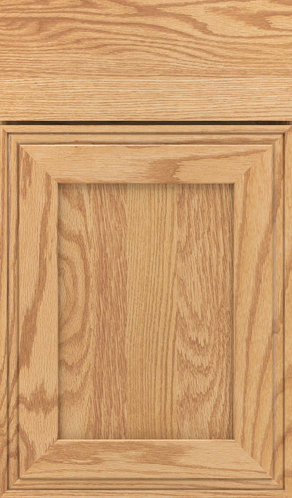 Daladier Oak Recessed Panel Cabinet Door in Natural