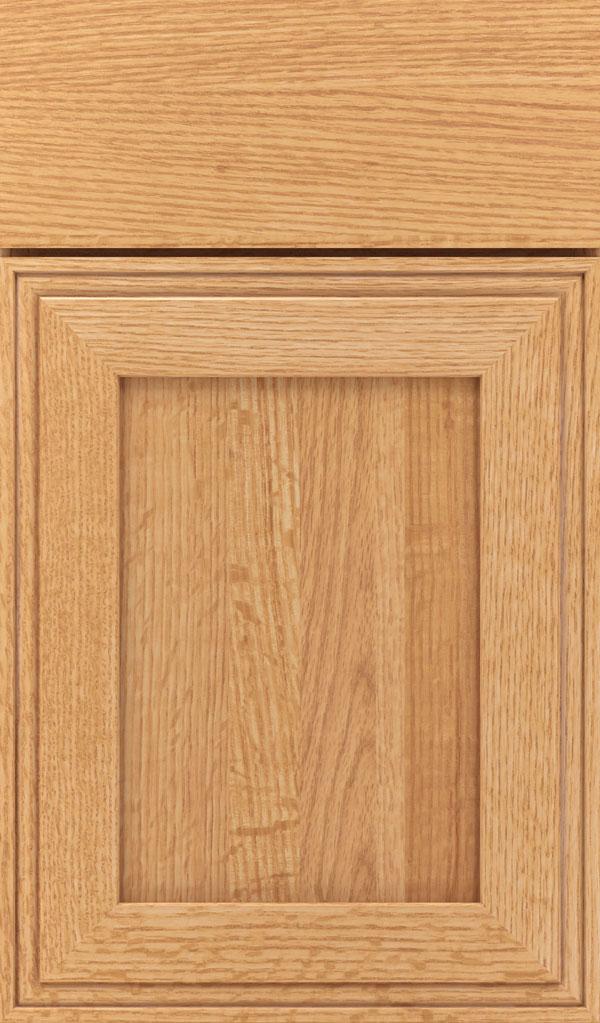 Cambridge Inset; Daladier Quartersawn Oak Recessed Panel Cabinet Door In  Natural