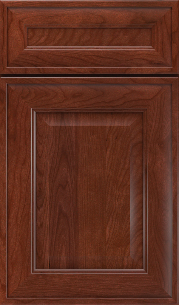 Davenport 5-Piece Cherry Raised Panel Cabinet Door in Arlington