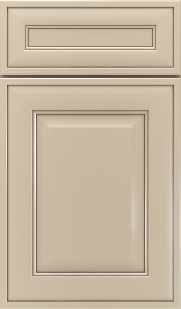 Davenport 5-Piece Maple Raised Panel Cabinet Door in Lunar Twilight