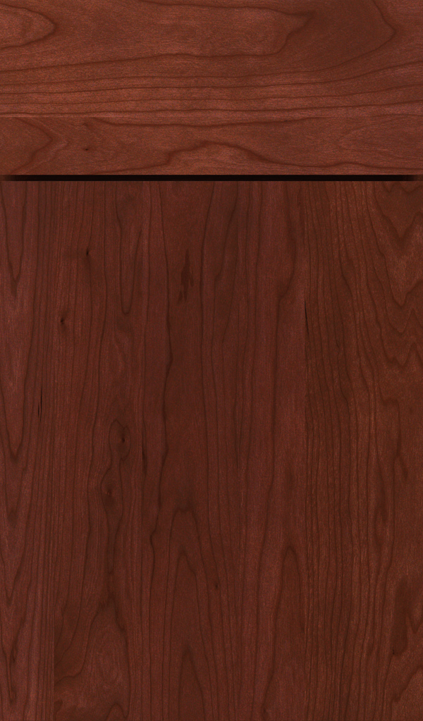 della_cherry_slab_cabinet_door_arlington
